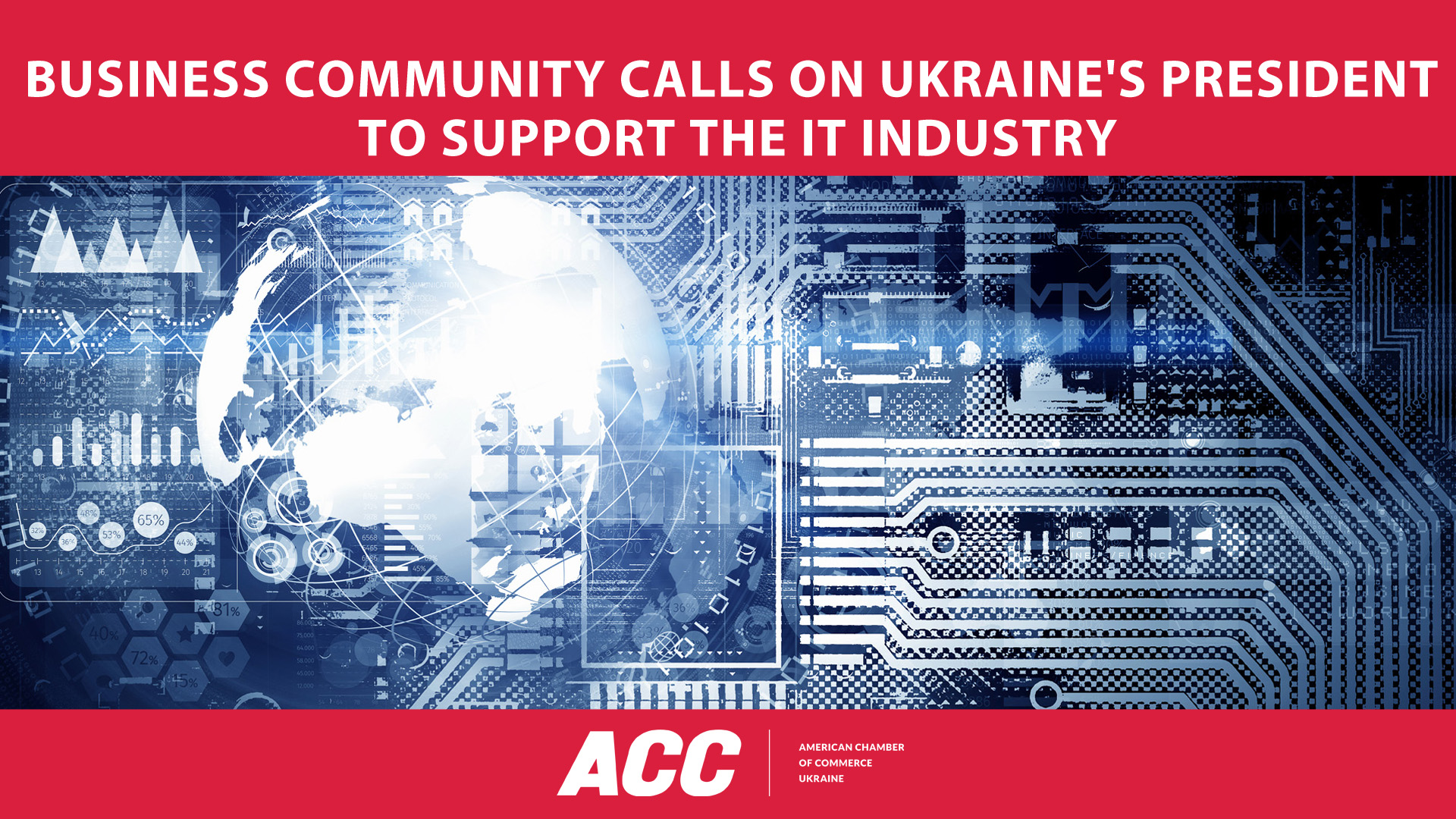 Business Community Calls on Ukraine's President to support the IT Industry