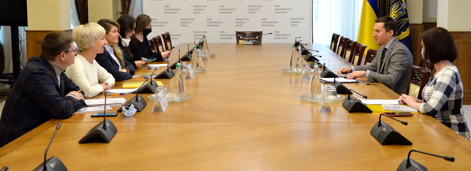 The AmCham Leadership Met with Representatives of the Prosecutor General's Office