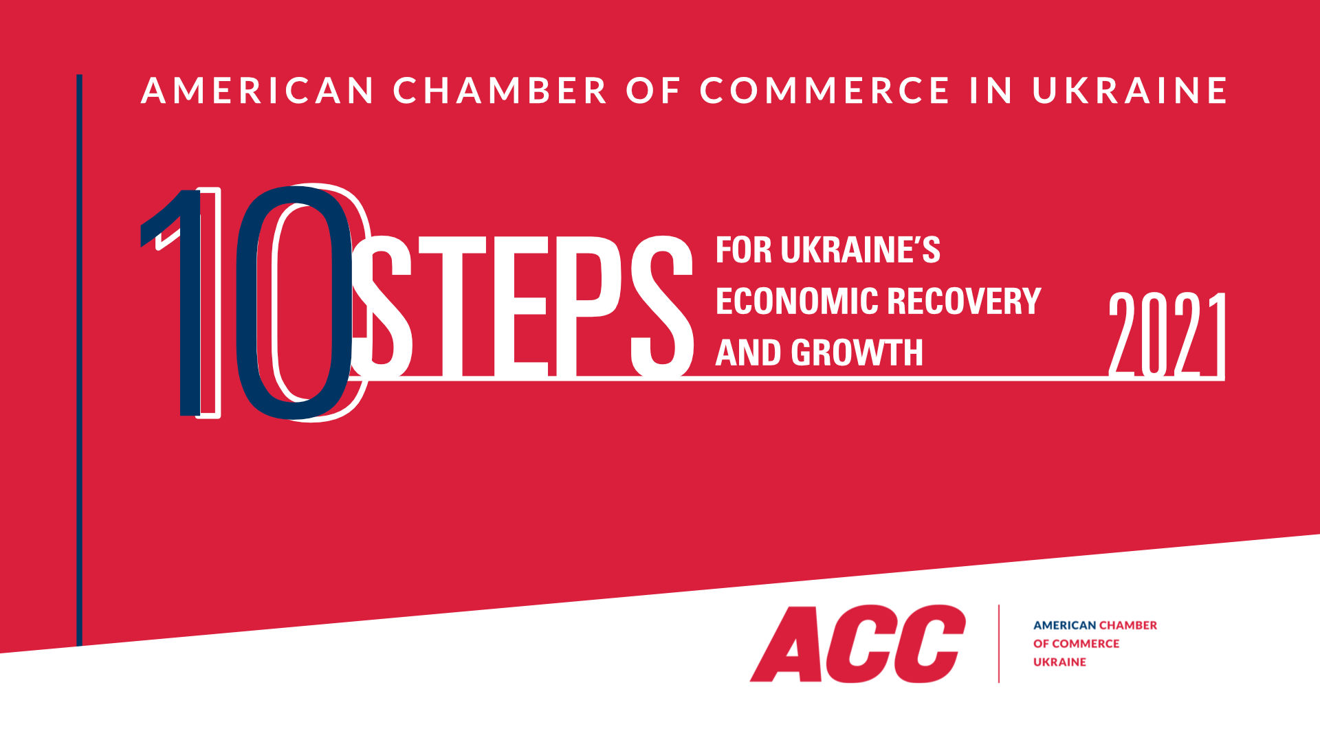10 Steps for Ukraine's Economic Recovery and Growth 2021