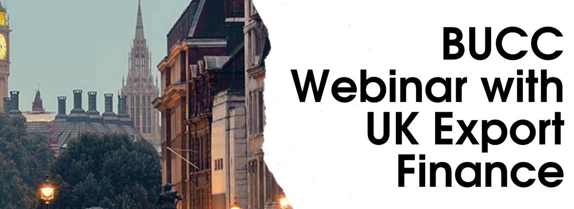 BUCC Webinar with UK Export Finance
