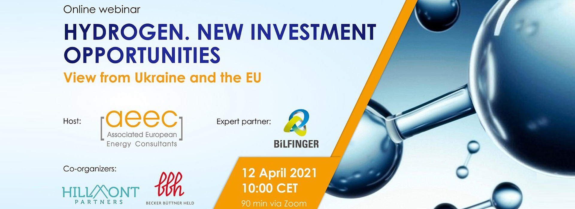 Hydrogen. New Investment Opportunities. View from Ukraine and the EU
