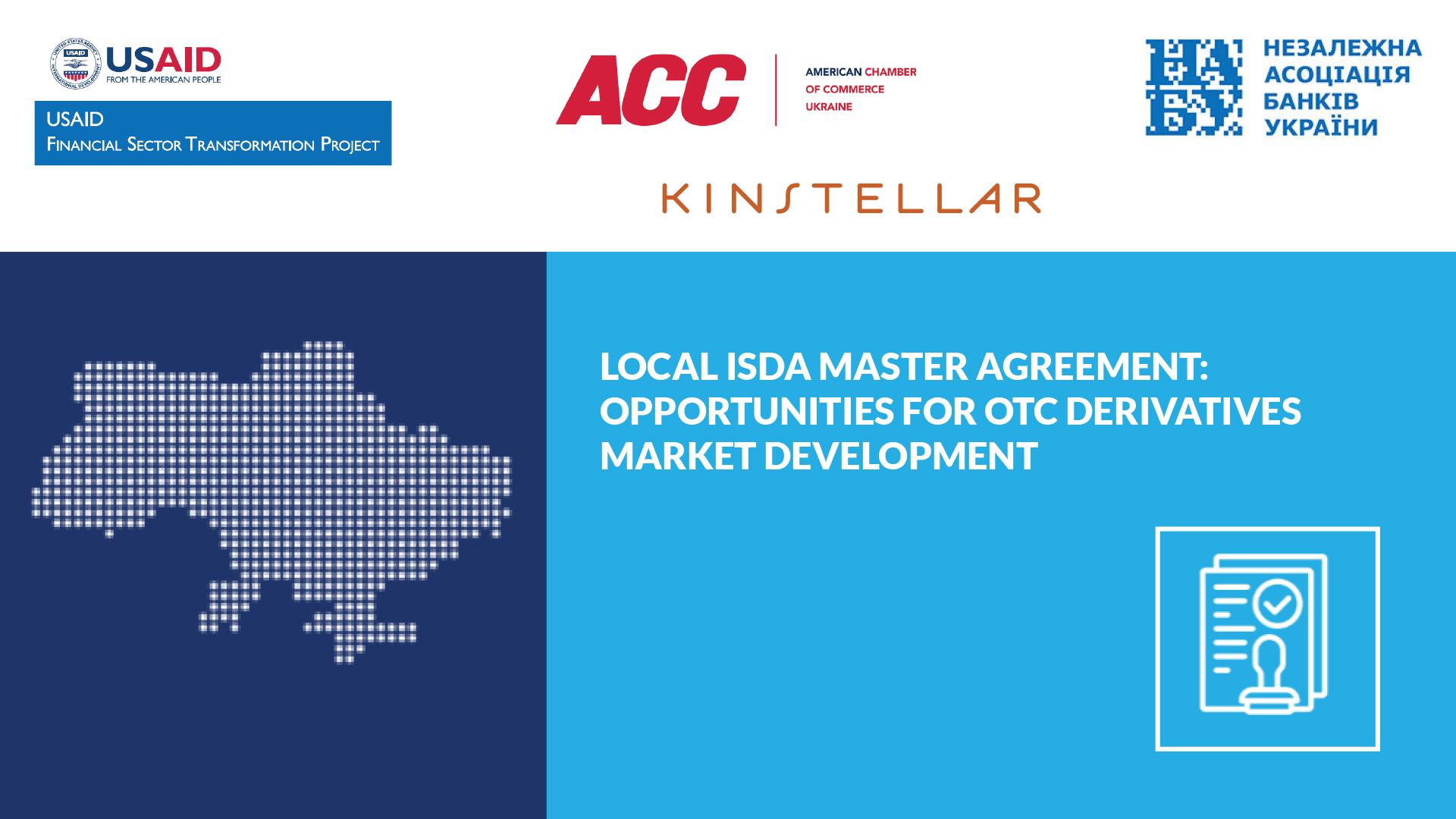 Ukraine Set to Jumpstart Derivatives Market with ISDA Standard Documentation