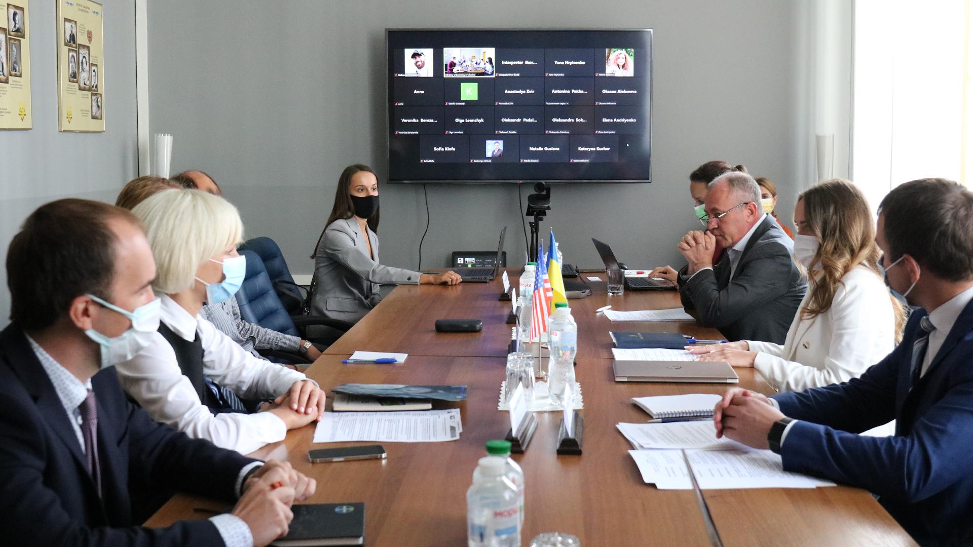 AmCham Ukraine members met with Kristina Golubytska, Deputy Minister of Economy of Ukraine