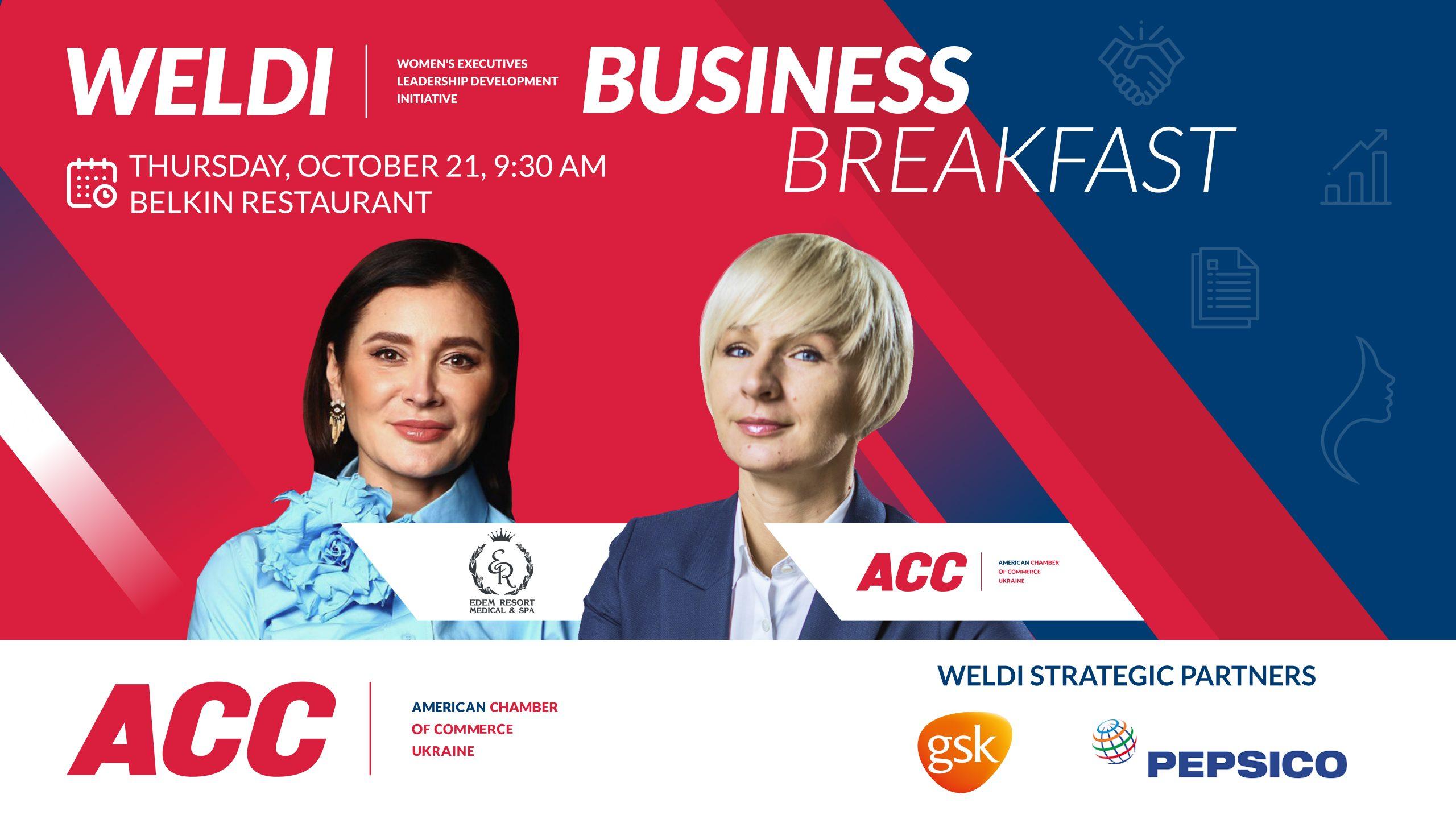 WELDI Business Breakfast '#ProLife: Secrets of Internal Harmony, Energy, and Longevity'